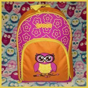 "CROCS Owl Backpack - ""Owlsome!"""